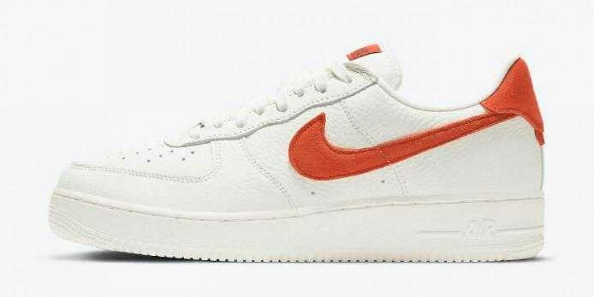 New Brand Nike Air Force 1 07 Craft Sail Mantra Orange for Online Sale