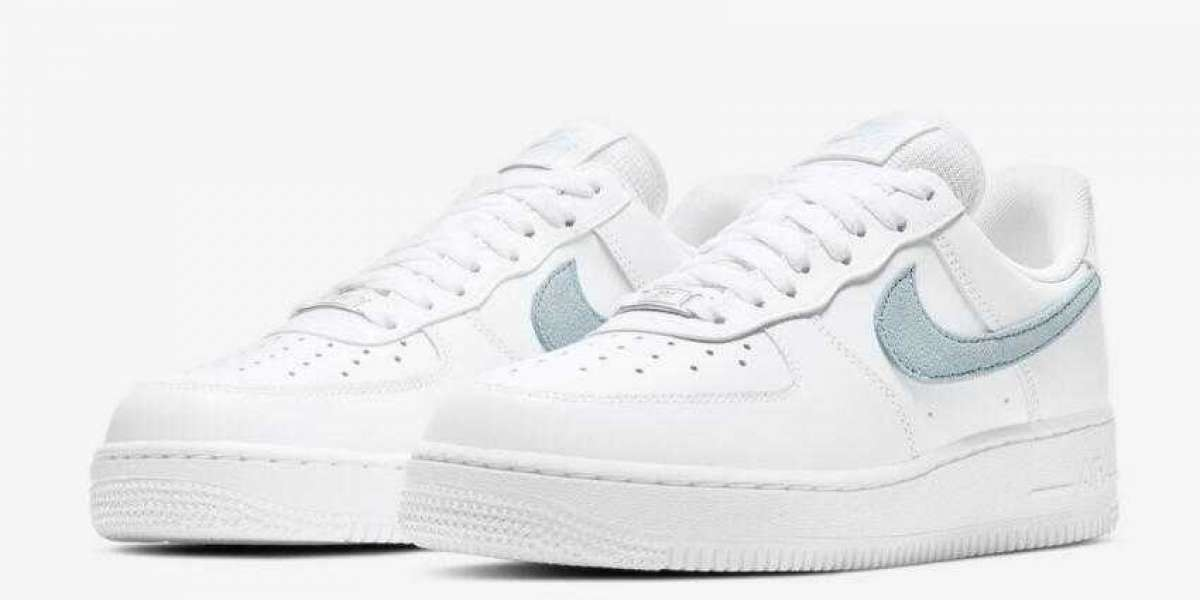 Brand Nike Air Force 1 Low White Icy Blue Accents Releasing Soon