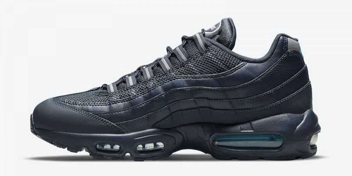 "Nike Air Max 95 ""Navy"" 2021 New Arrival DJ6884-400"