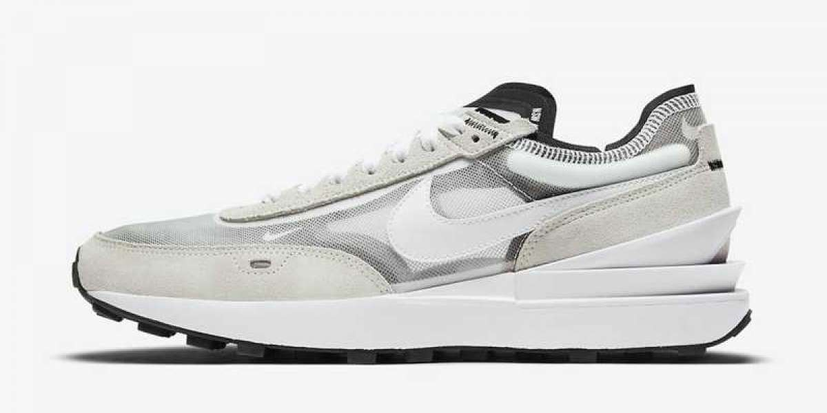"A pair of Nike Waffle One ""Summit White"" DA7995-100 shoes this summer?"