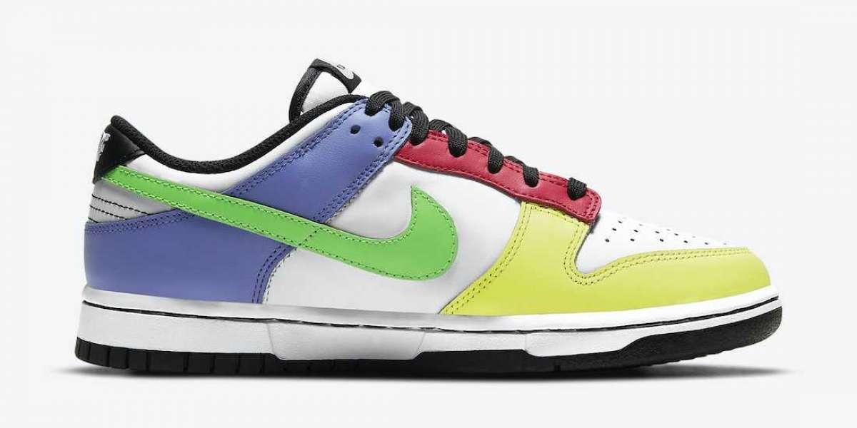 "Women's Nike Dunk Low ""Multi-Color"" DD1503-106 Cheap For Sale"