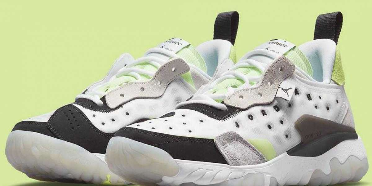 2021 Latest Jordan Delta 2 Touched With Cyber Green Accents