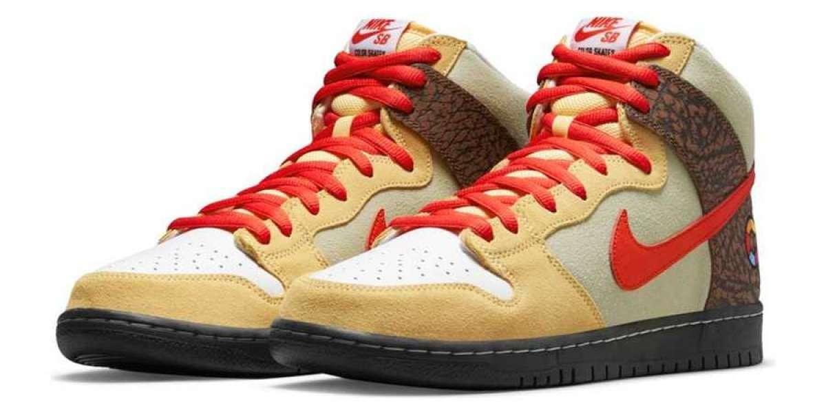 """2021 New Color Skates x Nike SB Dunk High """"Kebab and Destroy"""" For Sale Online"""
