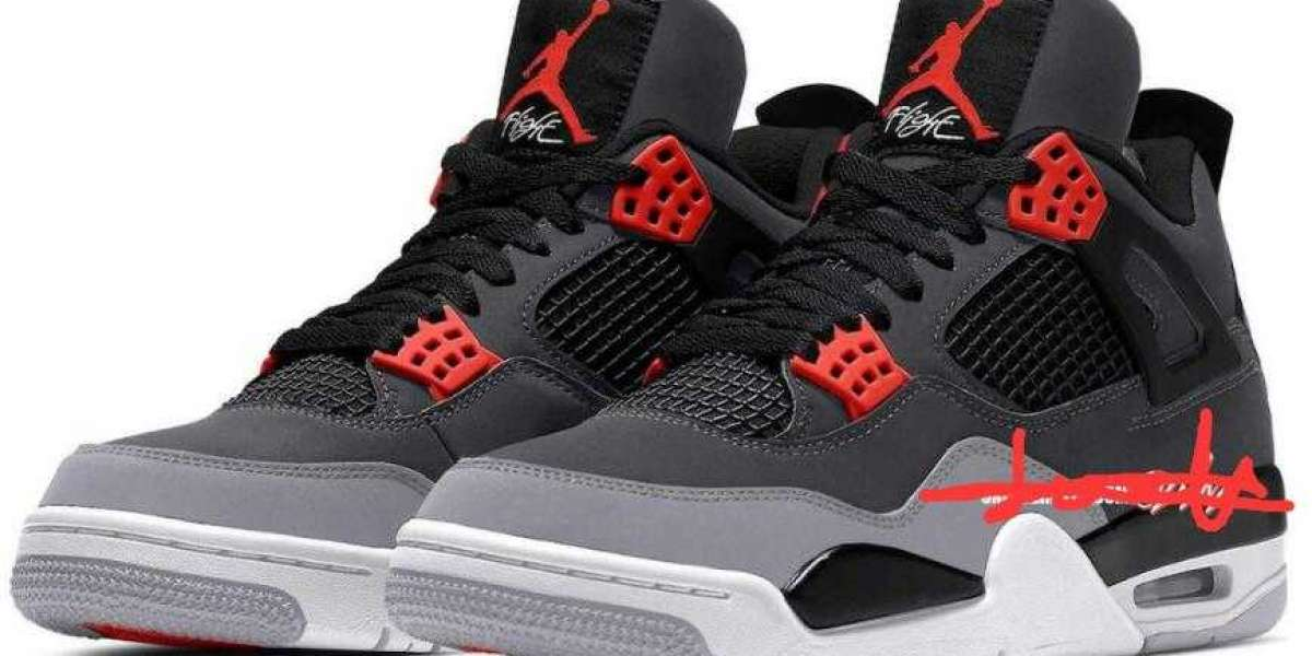 Air Jordan 4 Infrared Set to Drop on February 5, 2022