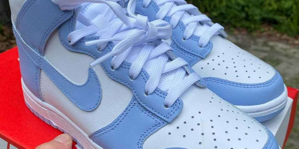 """2021 New Nike Dunk High WMNS """"Aluminum"""" DD1869-107 You need a pair!"""