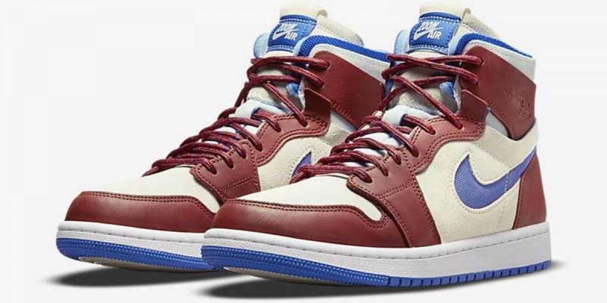 "Air Jordan 1 High Zoom CMFT ""Team Red"" CT0979-104 sale on the 12th"