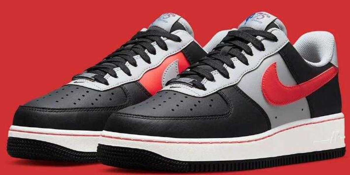 NBA Nike Air Force 1 Low Chile Red Release for Nike 75th Anniversary